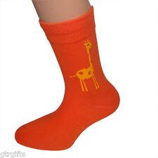 Cute Giraffe Design Childrens Socks - will suit Boy or Girl kids socks