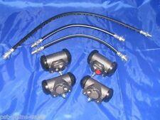 4 Wheel Cylinders & Brake Hoses 56 Oldsmobile 88 & 98