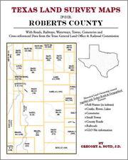 Roberts County Texas Land Survey Maps Genealogy History
