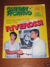 GUERIN SPORTIVO 1985/32 PAOLO ROSSI GIANNI RIVERA MILAN
