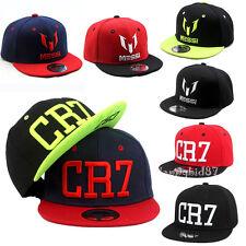 Kids Messi Embroidery Hiphop Hats Boys Girls Cap CR7 Baseball Snapbacks Fans Hat