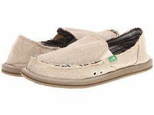 Women's Shoes Sanuk Donna Hemp Casual Sidewalk Surfers SWF1160 Natural *New*