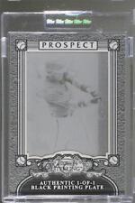 2006 Bowman Sterling Printing Plate Black #BSP-BJ Brandon Jones Atlanta Braves