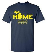 University of Michigan Wolverines Home t-shirt New basketball football