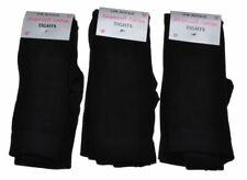 4 Paires de Collants Noir Enfant - Gamme de Tailles