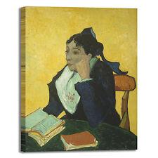 Van Gogh l'arlesiana design quadro stampa tela dipinto telaio arredo casa