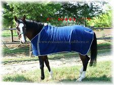 Coperta accappatoio per cavallo in spugna