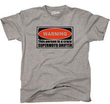 T-shirt Warning Supermoto Drifter MOTO SUPERMOTO siviwonder