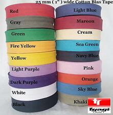 Delantal de unión de polarización de Algodón Confección empavesado Coser cinta 13mm 100 Metro la venta!!!