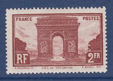 FRANCE N°  258 *  neuf avec charnière, TB, cote: 42 €