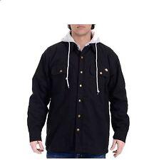 NWT Boys Dickies Canvas Jacket  S-8,  M-10-12,  L-14-16,  XL-18-20  ZIP Black