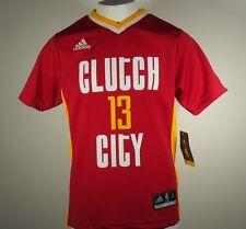 Adidas Houston Rockets Youth Size James Harden Clutch City Alternate Jersey New