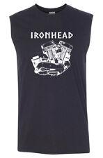 IRONHEAD Engine SLEEVELESS T-shirt - Harley Biker Sturgis