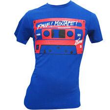 David Guetta F*** Me I'm Famous Ibiza Mens T-shirt FMIF Mixtape Cassette BLUE