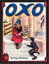 Oxo la tasse de gentillesse santé Rétro Style Vintage Métal Plaque Murale Signe