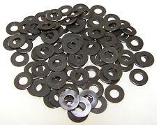 Tattoo Machine 100 #8 Black Washers, Binder Parts