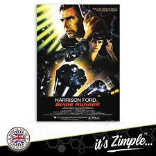 BLADE RUNNER POSTER HARRISON FORD FILM POSTER Movie Film Repro Poster Print