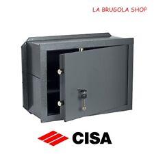 CASSAFORTE CISA ART.82010 A MURO INCASSO TESORETTO PORTAVALORI CASSEFORTI