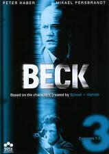DVD: Beck: 7-9, . Very Good Cond.: Peter Haber, Mikael Persbrandt, Stina Rauteli