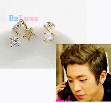 Korean Teen Top Crystal Music Note Earrings DBSK TOHOSHINKI TVQX YUNHO SS501