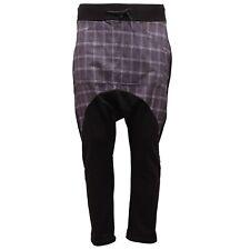 8329R pantalone tuta uomo MINAMARKET cavallo basso multicolor pant trousers men