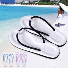 Women Lightweight Summer Backless Flat Flip Flops Beach Slippers Sandals Shoes