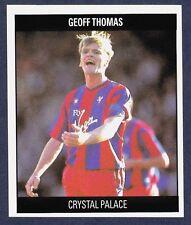 ORBIS 1990 FOOTBALL COLLECTION-#M114-CRYSTAL PALACE & ENGLAND-CREWE-GEOFF THOMAS