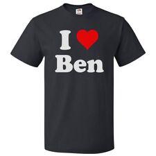 I Love Ben T shirt I Heart Ben Tee