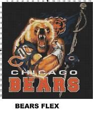 NFL Chicago Bears Mascot cross stitch pattern