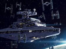 Imperial Navy Starfleet Star Wars II Destroyer Huge Giant Print POSTER Affiche