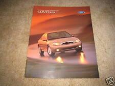 1998 Ford Contour LX SE sales brochure dealer literature 18 page