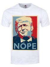 Donald Trump Nope Men's White T-shirt