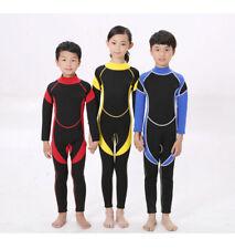 Kids Wetsuit 2.5MM Full Body Swimwear Diving Jumpsuit  Warm Snorkeling Surfing