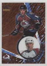 1997 Pacific Invincible Copper #33 Adam Deadmarsh Colorado Avalanche Hockey Card