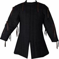 New-Medieval-Gambeson-thi ck-padded-coat-Aketon-vest -Jacket-Armor-Halloween-Gi ft
