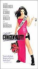 MISS CONGENIALITY (vhs) Sandra Bullock, Michael Caine, Benjamin Bratt. BRAND NEW
