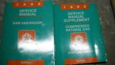 1995 Dodge RAM VAN WAGON Service Repair Shop Manual Set W SUPPLEMENT OEM Book