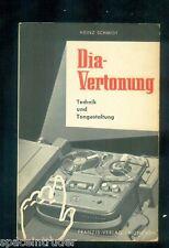 Dia Vertonung  Heinz Schmidt Technik Gestaltung 1963