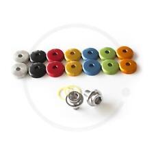 Kurbelschrauben mit farbiger Staubkappe für Vierkant-Kurbeln MTB/Road