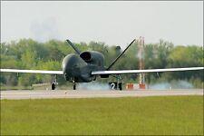 Poster, Many Sizes; Rq-4 Global Hawk Arrives At Grand Forks Air Force Base, N.D