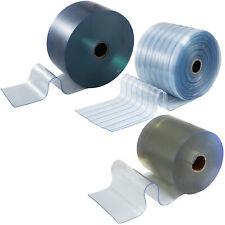 Tende a Bande In PVC Trasparente 15-50M Industriali Divisorio Liscia/Antigraffio