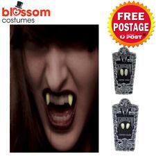 AC558 Glow in The Dark Scarecrow Vampire Fangs Costume Vampire Teeth Halloween