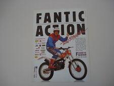 advertising Pubblicità 1989 MOTO FANTIC TRIAL 50