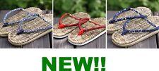HANDMADE SANDAL ZORI GETA JAPANESE CLOG COMFORTABLE BAMBOO EVA SPONGE SOLE!