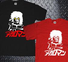 New Rare Classic Tokusatsu Megaloman Like Ultraman Japan Superhero T-shirt
