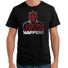Sith Happens   Star Wars Satire   Parodie   Darth Maul   S-XXL T-Shirt