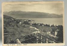 lago di garda gardone riviera vecchia cartolina spedita