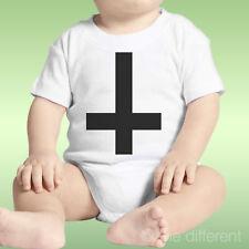 Body Newborn Unisex Cross Black Upside Down Black Crossidea Gift