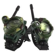 1 Pair Toy Walkie Talkies Watches Walkie Talkie 7 in 1 Children Watch Radio XX