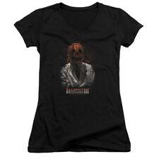 Halloween Iii H3 Scientist Juniors V-Neck Shirt